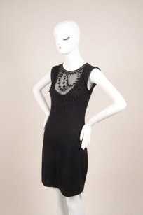 Valentino short dress Black Bead on Tradesy