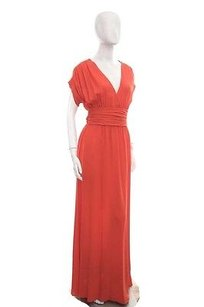 Red Maxi Dress by Valentino Silk Gown