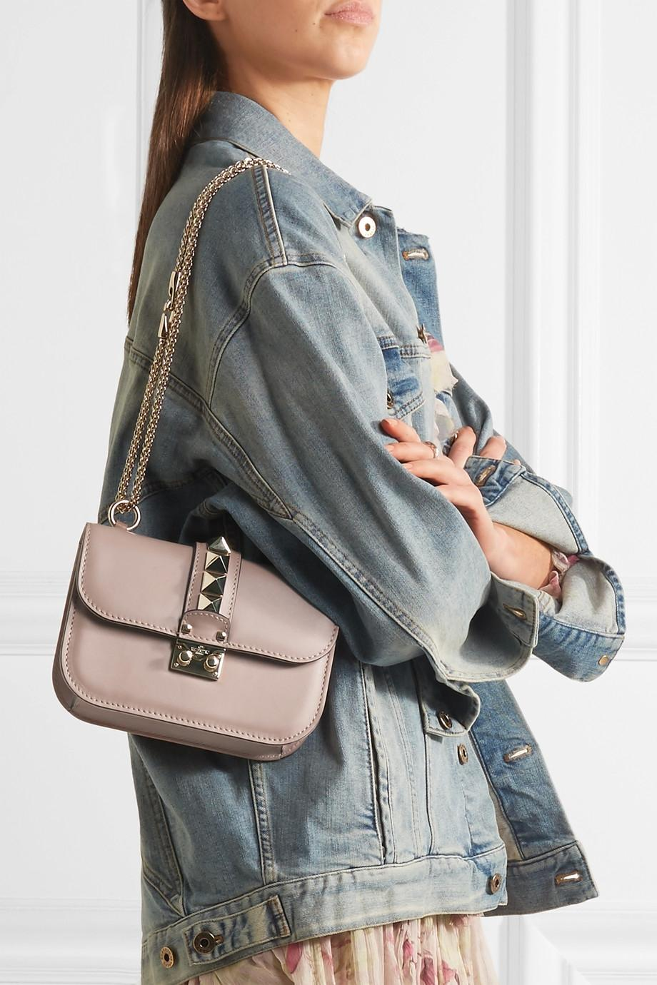Valentino Leather Mini Bag From China For Sale Cheap Sale Sast Low Shipping Fee Sale Online Best Sale cp9EJXO