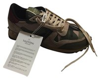 Valentino Sneaker Green New Camouflage Athletic
