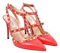 Valentino Garavani Rockstud Red Pumps
