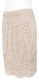 Valentino Light Tan Skirt Beige