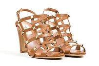 Valentino Leather Brown Sandals