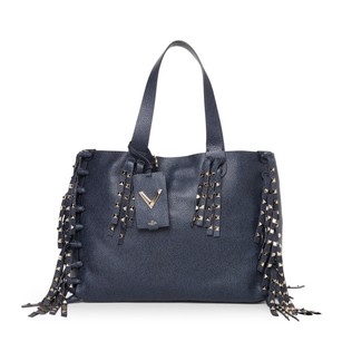 Valentino Tote in Deep Denim