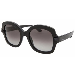 Valentino Valentino 697S-001-53 Women's Butterfly Black Sunglasses