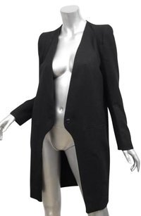 Vanessa Bruno Womens Navy Jacket 364 Coat