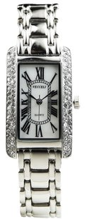 Vecceli Italy Vecceli Italy Rectangle Fashion Ladies Watch L-529-W