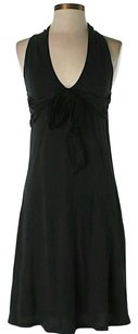 Velvet by Graham & Spencer short dress Black Tie Halter on Tradesy