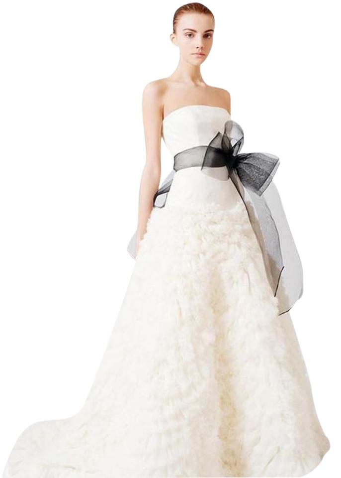 Vera Wang Off White Ivory Organza Tulle Eleanor   Gown From Sex And The City