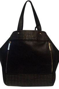 Versace Beckett Large Tote in Black