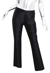 Versace Gianni Couture Womens Silk Trousers Pants