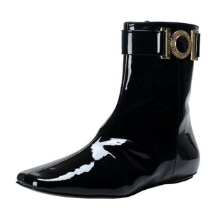 Versace Collection Ankle Black Boots
