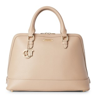 Versace Collection Satchel in Sand