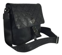 Versace black Messenger Bag