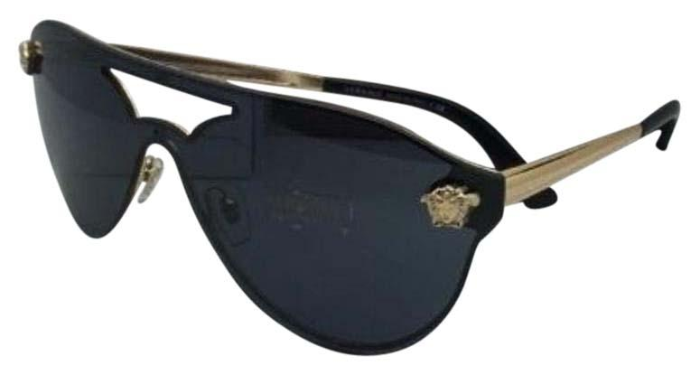 7a7f2799e8f Versace Medusa Metal Shield Sunglasses