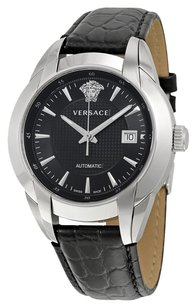 Versace VERSACE Character Black Dial Stainless Steel Men's Watch VER-25A399D008-S009