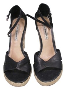 Via Spiga Wedges Black Platforms