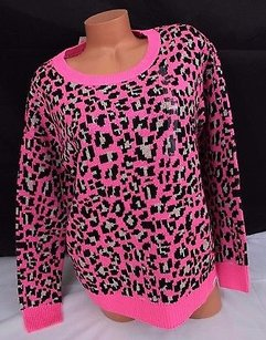 Victoria's Secret Limited Edition Wool Blend Knit Leopard Sweater