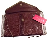 Vieta Tan/brown Clutch