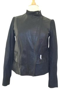 Vince Back Leather Jacket
