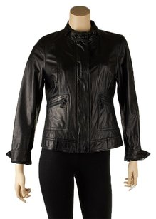 Vince black Leather Jacket