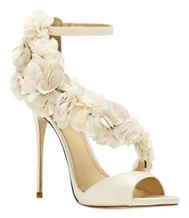 Vince Camuto Imagine Daphne Ivory Satin Luxe Sandals
