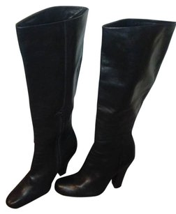 Vince Camuto Midcalf Soft Leather Black Boots