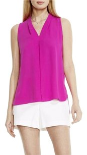 Vince Camuto Pleated Top pink