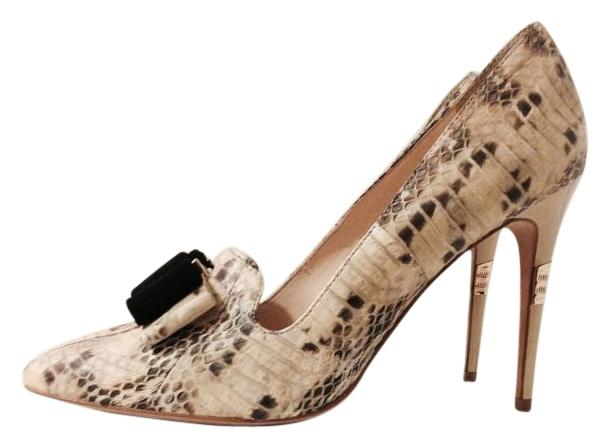 Vince Camuto Snakeskin *new* Cv Signature Collection Pumps Size US 8 Regular (M, B)