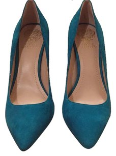 Vince Camuto Teal Pumps