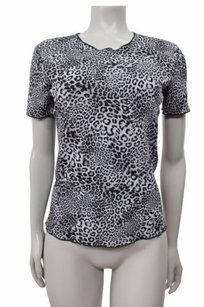 Vince Camuto Top Gray-black