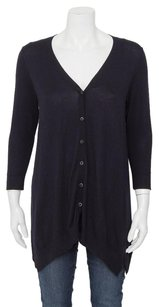 Vince Navy Dark Rib Knit Sweater