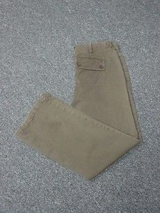 Vince Flat Zip Front Solid Casual Sma 3413 Pants
