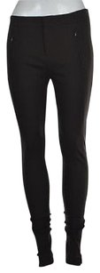 Vince Womens Solid Casual Trousers Leggings Skinny Pants