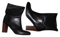 Vince Exclusive Black Soft Nappa Leather Boots