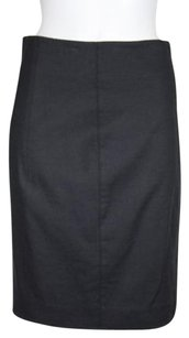 Vince Womens Pencil Skirt Charcoal