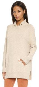 Vince Oatmeal Ribbed Sweater