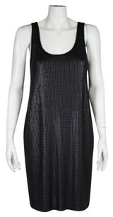 Vince short dress Black Womens Sequined on Tradesy