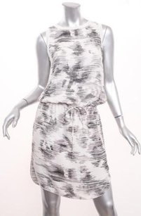 Vince short dress Cream Womes Printed on Tradesy