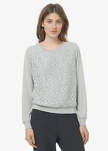 Vince Lace Overlay Nickel Top Gray