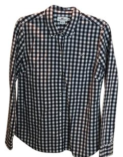Vineyard Vines Button Down Shirt Navy & White