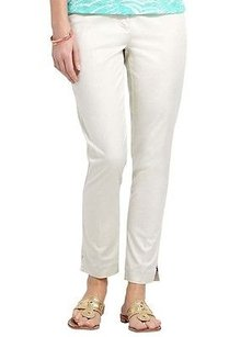 Vineyard Vines Piper Ankle Capri/Cropped Pants Stone