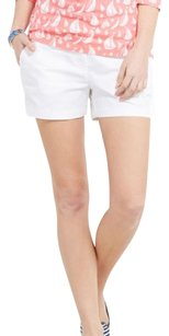 Vineyard Vines Stretchy Shorts White Cap