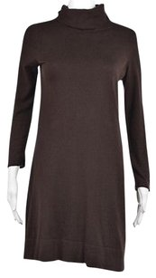 Vineyard Vines short dress Brown Womens Sweater Turtleneck Above Knee on Tradesy