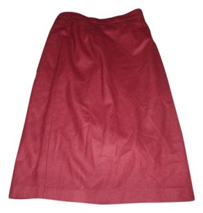 Vintage Clothing Skirt Maroon