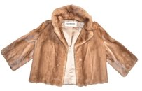 VINTAGE Pastel Mink FUR jacket Blonde/autumn haze/ Jacket