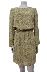 W118 by Walter Baker Bell Sleeved Python Print Dress