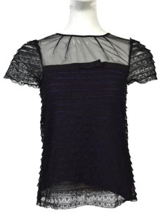 W118 by Walter Baker Womens Lace Top Black
