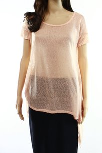 Wallpapher Knit New With Tags Rayon Short Sleeve 3220-2163 Top