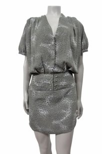 Walter by Walter Baker Grey Cheetah Dress